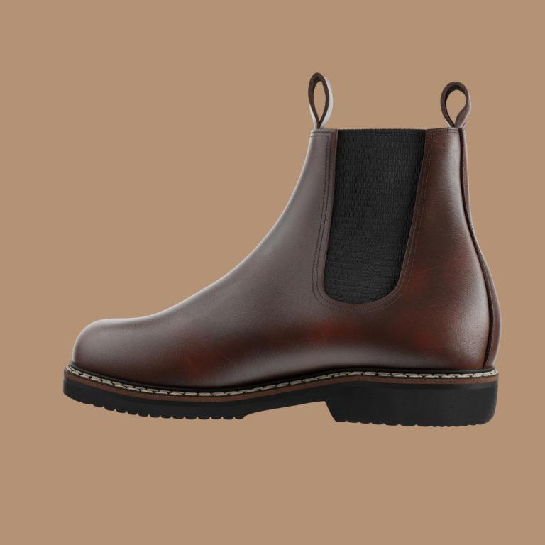 villette gauche   Le Soulor - Chaussures françaises