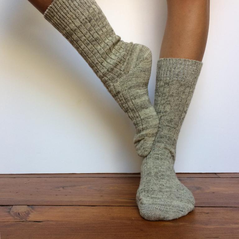 chaussettes laine   Le Soulor 1925
