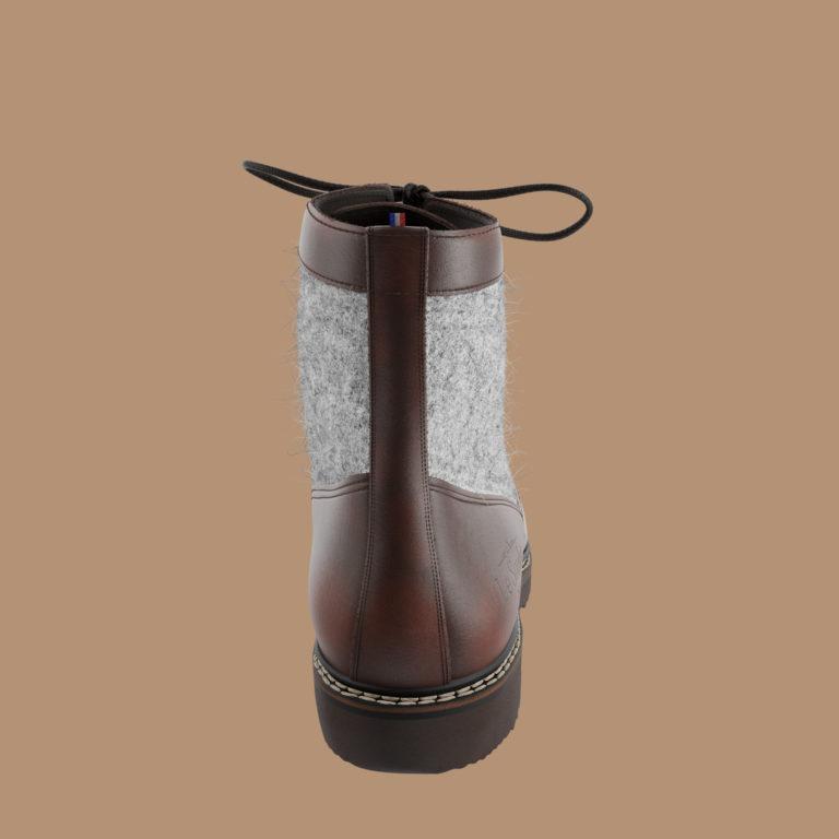 montparnasse dos | Le Soulor - Chaussures françaises