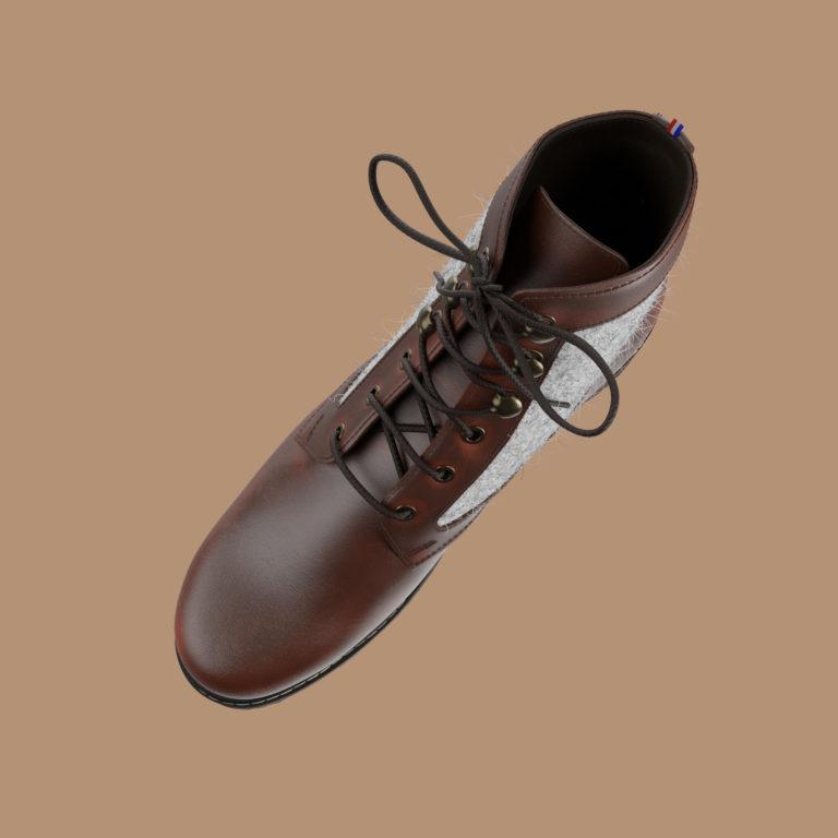 montparnasse haut | Le Soulor - Chaussures françaises