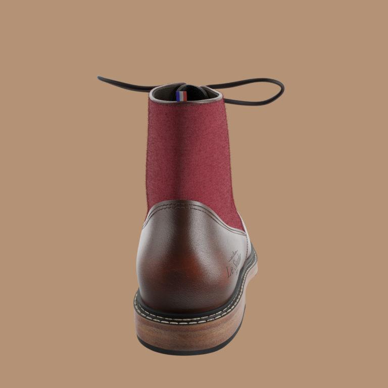 montmartre dos | Le Soulor - Chaussures françaises