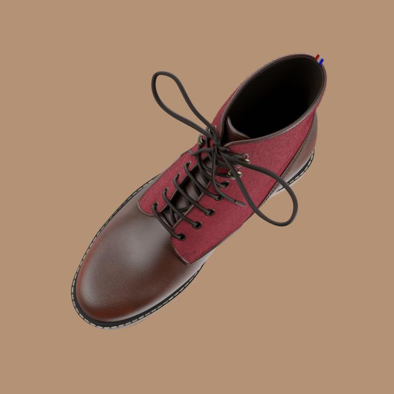 montmartre haut | Le Soulor - Chaussures françaises