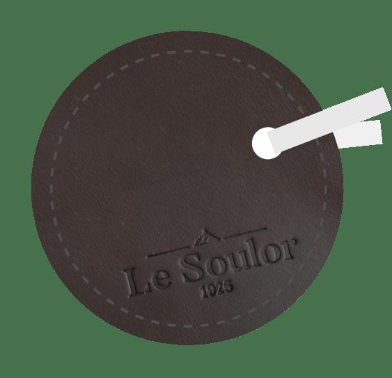 cuir gras chocolat