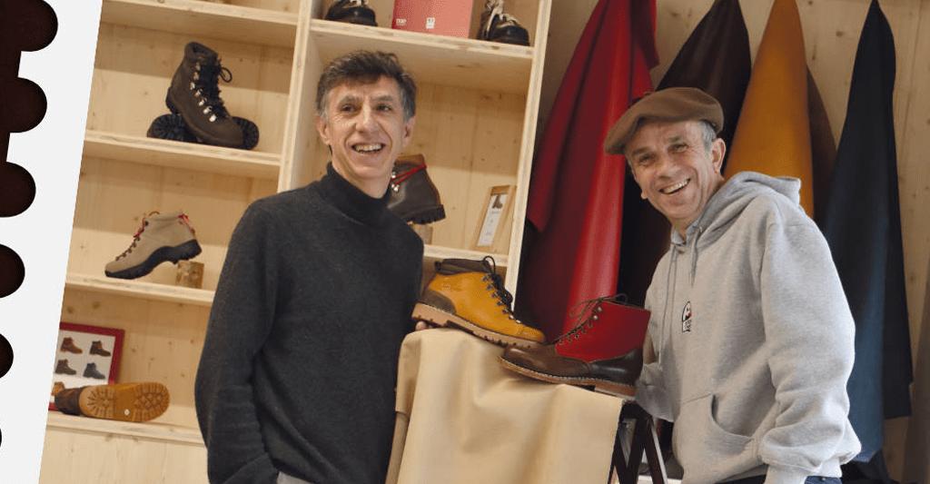 Stephane et Philippe les gérants de l'Atelier Le Soulor